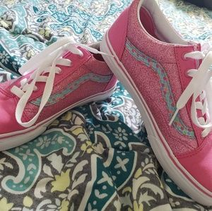 pink mermaid vans
